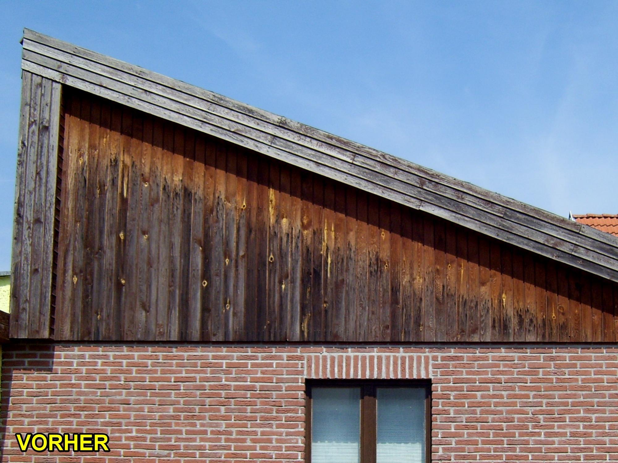 giebelwand und wintergarten mit schwarzen schindeln gedeckt schindeln dachziegel. Black Bedroom Furniture Sets. Home Design Ideas