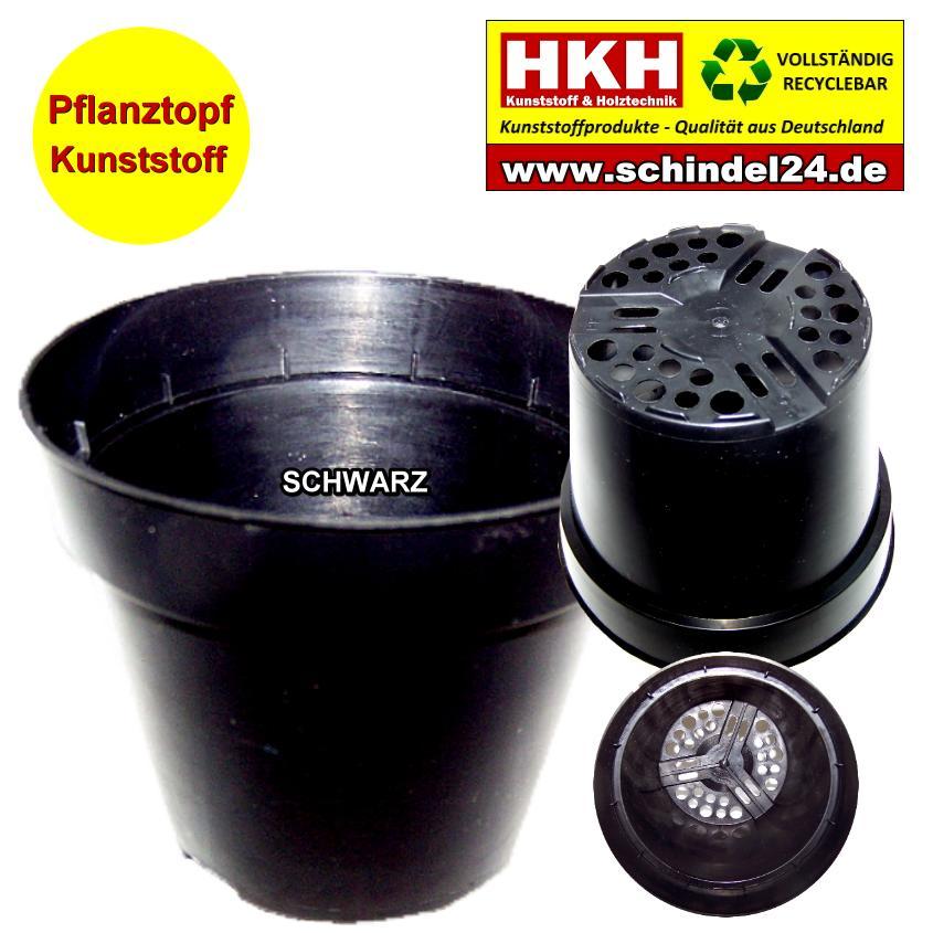 Hkh Pflanztopf Schwarz 300 Stk Schindeln Dachziegel